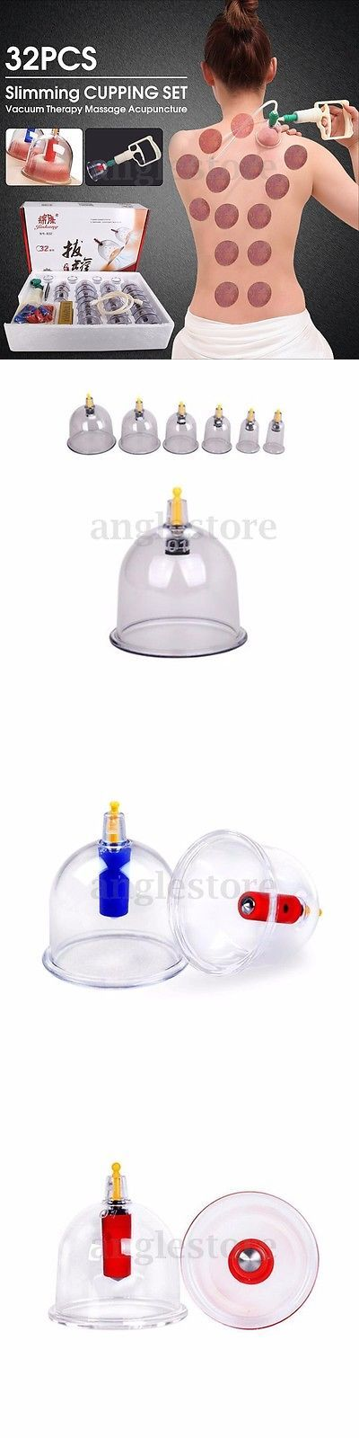 Acupuncture: 32 Cups Medical Chinese Vacuum Body Cupping Massage Therapy Healthy Suction Set -> BUY IT NOW ONLY: $47.99 on eBay!