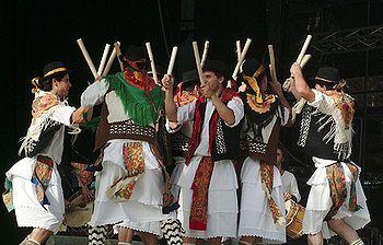 Pauliteiros, Portugal ( playing with sticks)