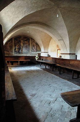 San Damiano - Refettorio di Santa Chiara - Assisi  #TuscanyAgriturismoGiratola