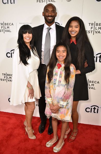 Kobe Bryant Photos Photos - Vanessa Laine Bryant, Kobe Bryant, Gianna Bryant and Natalia Bryant attend Tribeca Talks: Kobe Bryant with Glen Keane - 2017 Tribeca Film Festival at BMCC Tribeca PAC on April 23, 2017 in New York City. - Tribeca Talks: Kobe Bryant With Glen Keane - 2017 Tribeca Film Festival