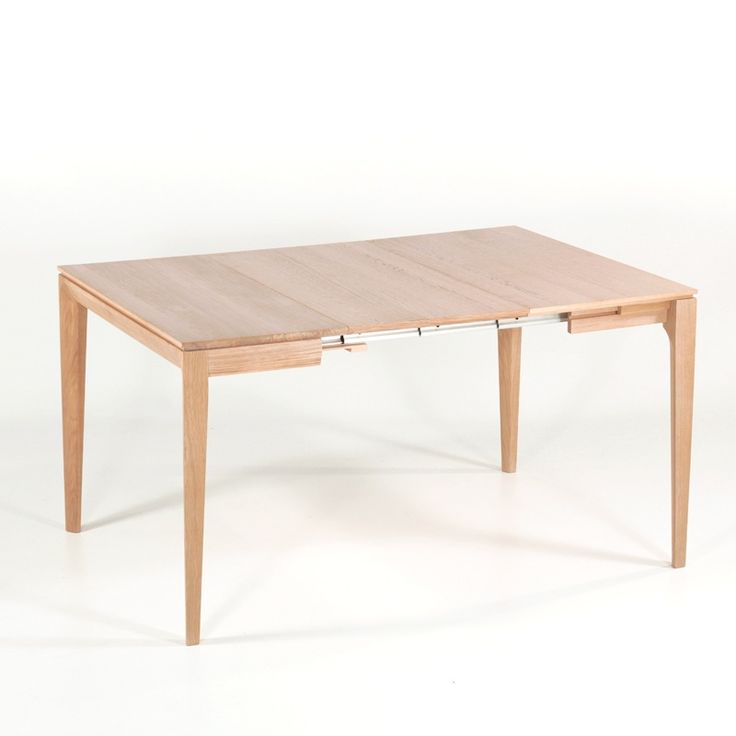 Beautiful console extensible en bois massif buzz with ilot for Ilot cuisine table extensible
