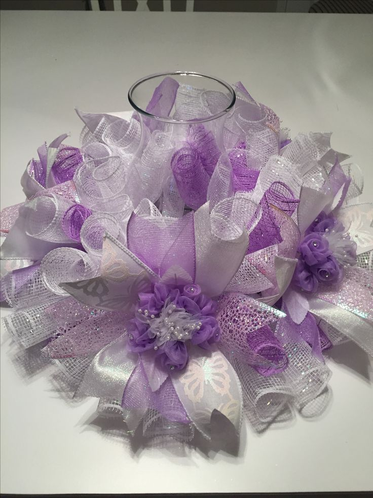 1000+ images about Center pieces with mesh on Pinterest ...