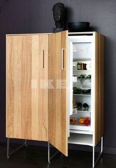 Metod hyttan high cabinet for fridge/freezers