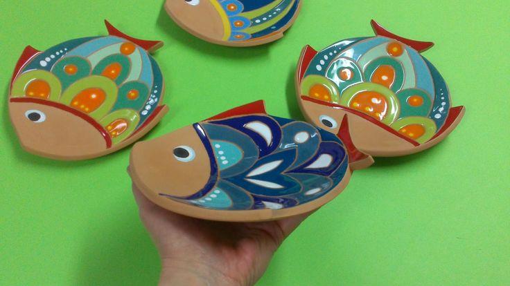 ceramica come mestiere: centritavola e svuotatasche