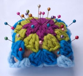 Stitch of Love: ~ Simple Pin Cushion with a Granny Square