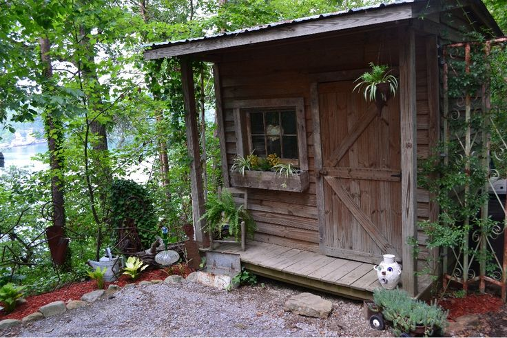17 Best images about rustic garden shed on Pinterest