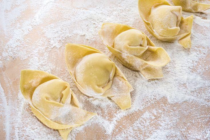 Cappellacci alla cernia #Poggiolini #pasta #pastafresca #cappellacci #cernia #Toscana