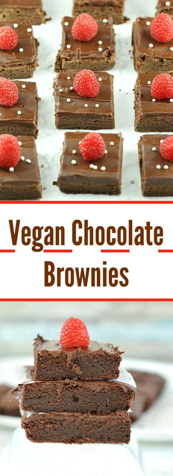 Thick and fudgy Vegan Chocolate Brownies are a pure indulgence. These are the best vegan brownies you've ever tasted – oh so chocolaty, delicious and definitely crave-worthy!!