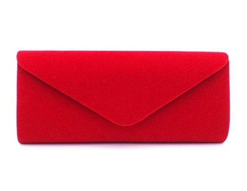 New Trending Clutch Bags: Nodykka Wedding Evening Party Velvet Clutch Bag Retro Envelope Cross Body Handbag. Nodykka Wedding Evening Party Velvet Clutch Bag Retro Envelope Cross Body Handbag  Special Offer: $11.99  455 Reviews This strikingly beautiful clutch bag with a simple, streamlined construction is perfect for any evening look. It has one main internal compartment with a slip pocket ...