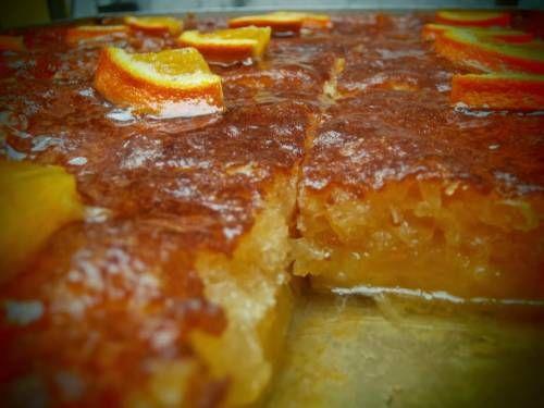 Σούπερ πορτοκαλόπιτα με μαρμελάδα
