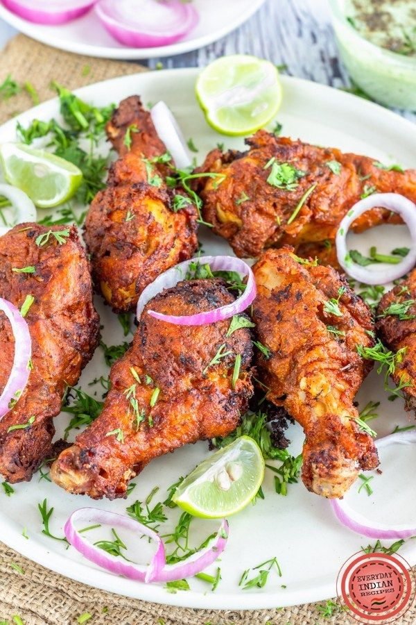 Indian Style Fried Chicken Drumsticks Easy Indian