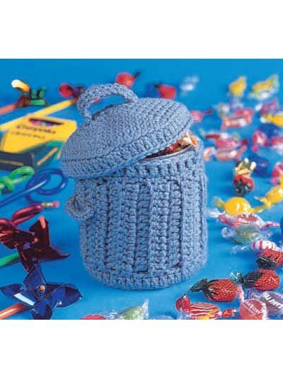 Trashcan Crochet ... maybe I can do this small project? ;o)