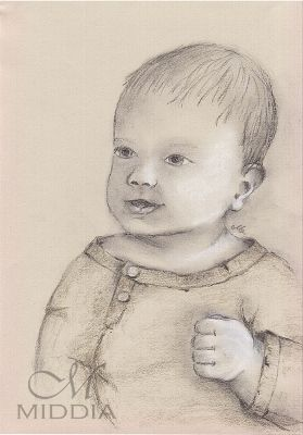 Middia Lenormand. Project started III 2015 - Child - Dziecko