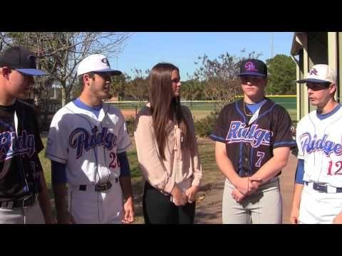 Baseball: Oak Ridge War Eagles PreSeason Player Interview | The Woodlands Area Student Center News