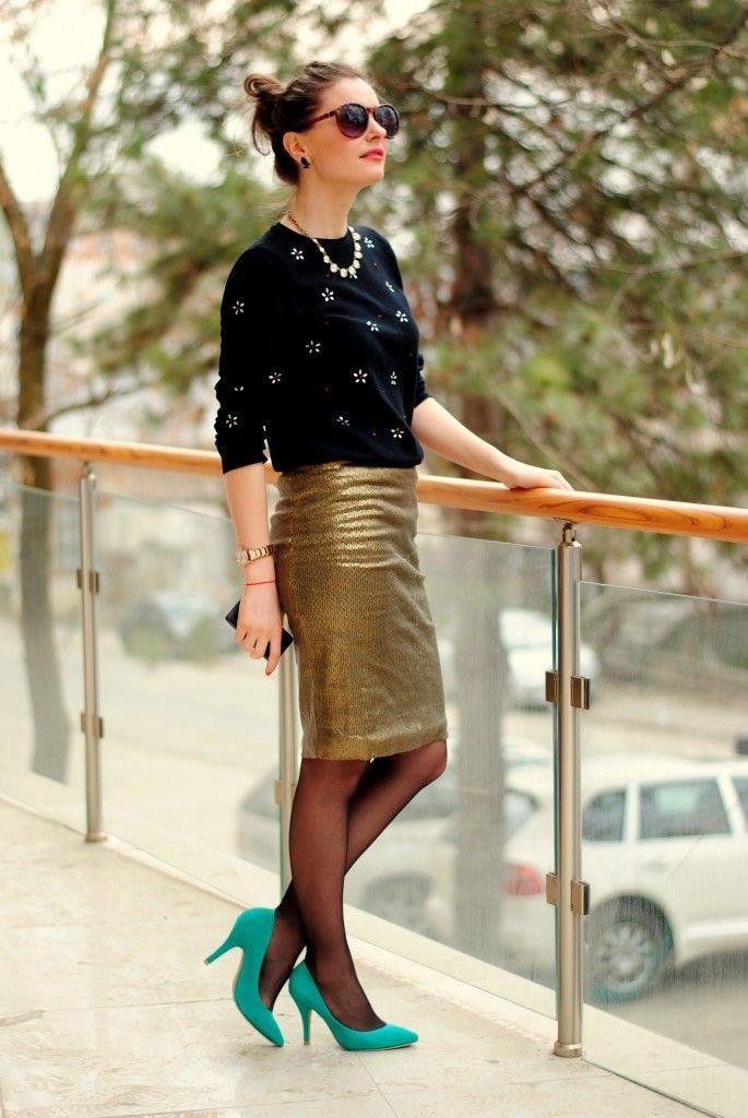 Sequin skirt | Iasi Fashion Street