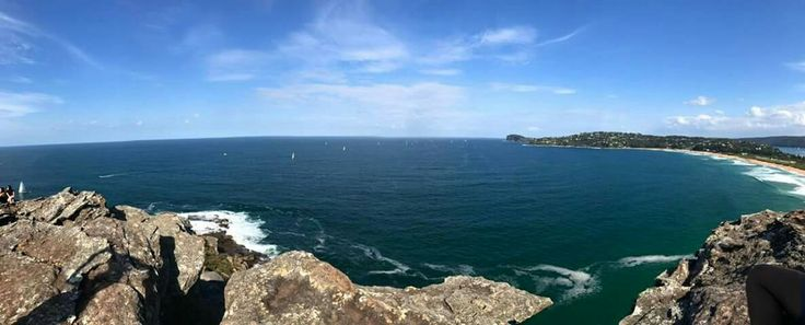 Barrenjoey light house. A drive up to Palm beach in Australia NSW and a short hike to these top of the hill to get this amazing view. #palmbeach #nsw #beach #view #hill