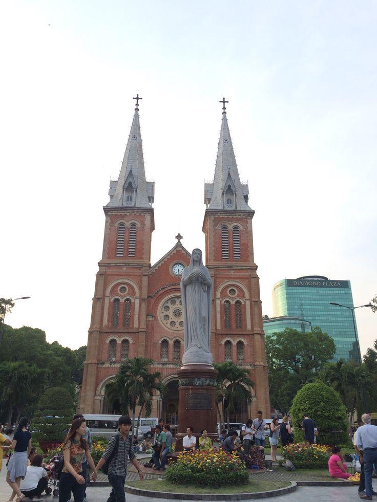 Saigon old catheral church
