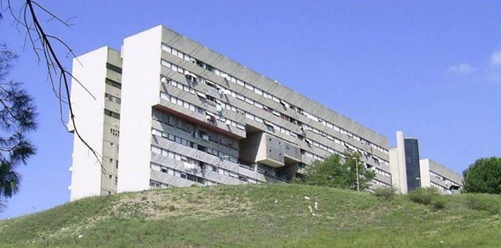 ERP Building, Corviale, Rome. 1972, Rome, Italy, Arch. Mario Fiorentino & Co.