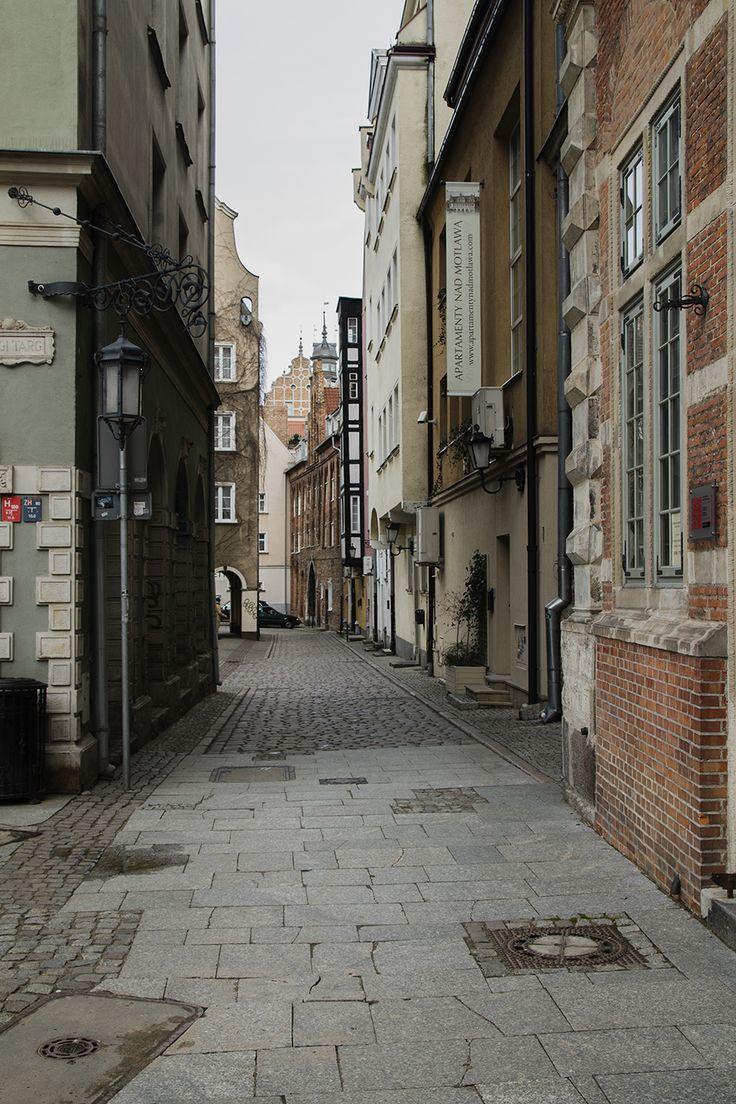 gdansk katu vanhassa kaupungissa