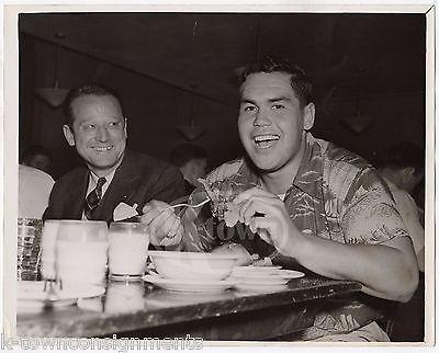 RAY ESKMANN WASHINGTON HUSKIES WAYNE STERLING COLLEGE FOOTBALL PRESS PHOTO 1939