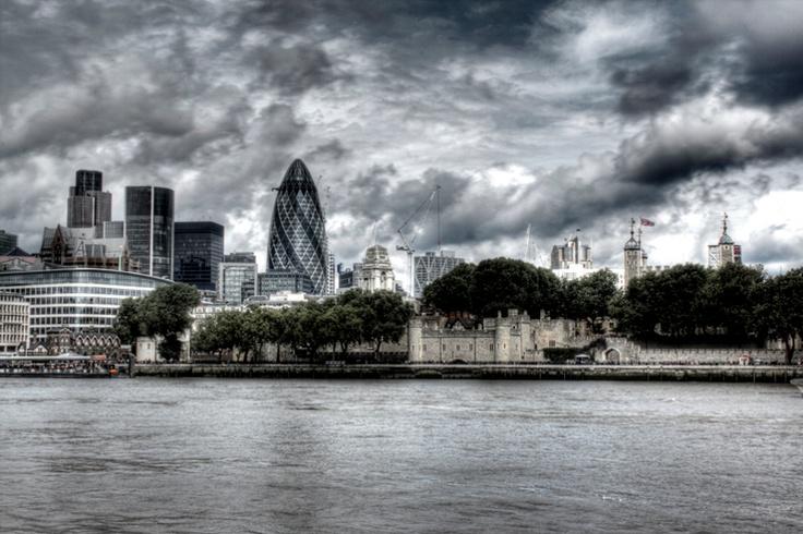 Londra. #paesaggisurreali