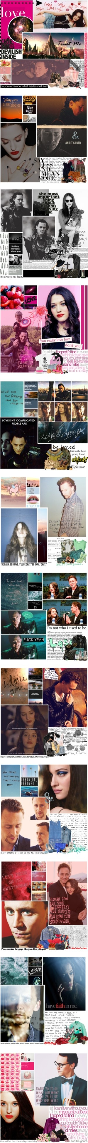 """""""Tom Hiddleston/Kat Dennings"""" by queenb-nyc ❤ liked on Polyvore"""
