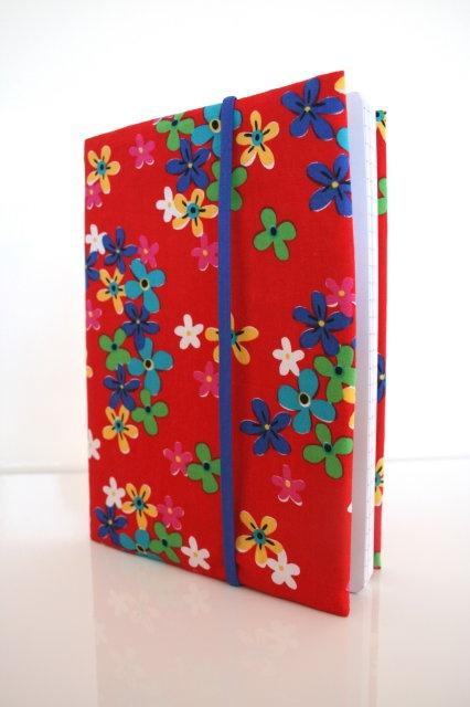 Stoffen notitieboek hoes