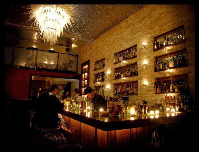 'Secret' Bars In America.  Bourbon & Branch (San Francisco) You'll need a secret password and a reservation to get into the unmarked Tenderloin speakeasy, known for its secret rooms and unusual twists on classic drinks. Cucumber gimlet, anyone? 501 Jones St., San Francisco