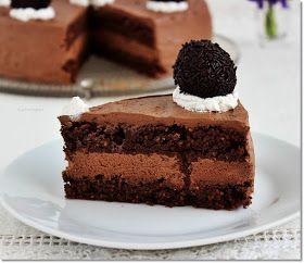 Gizi-receptjei. Várok mindenkit.: Mogyorós csokoládétorta. (lisztmentes)