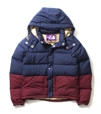 THE NORTH FACE PURPLE LABEL  Vertical Down Jacket