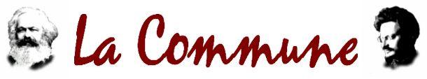 Le journal de BORIS VICTOR : Déclaration : La Commune - GSI : Plus que jamais, ...