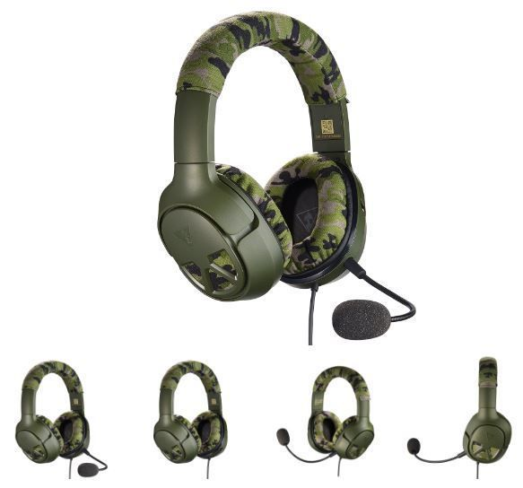 Turtle Beach Recon Camo Multiplatform Gaming Headset for