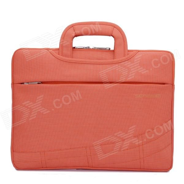 """SENDIWEI S-314W Multifunctional Ultra-thin Fashionable Handbag for 15"""" Notebook Laptop - Orange Red Price: $21.33"""
