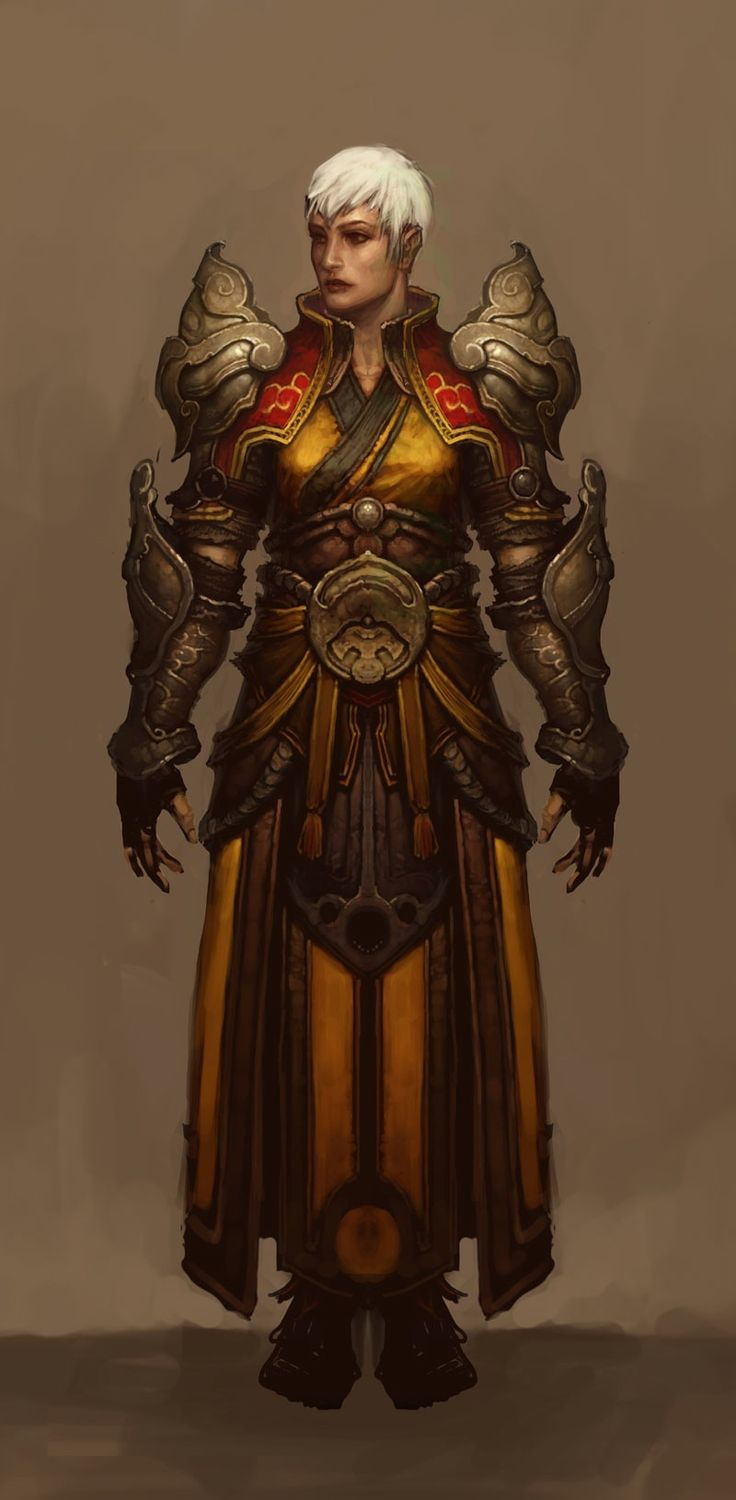 Diablo III's Female Monk Has The Cutest Haircut