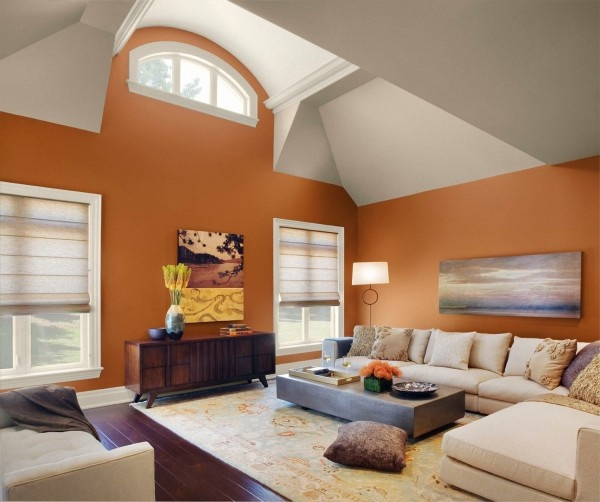 Living Room Paint Ideas The New Interior Color Trends Warm Ambience Motiq  Online