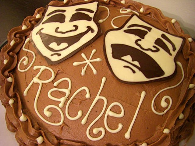 Teen Birthday Cakes and Event Cake Ideas: Theater and Drama Teen Birthday Cake Idea