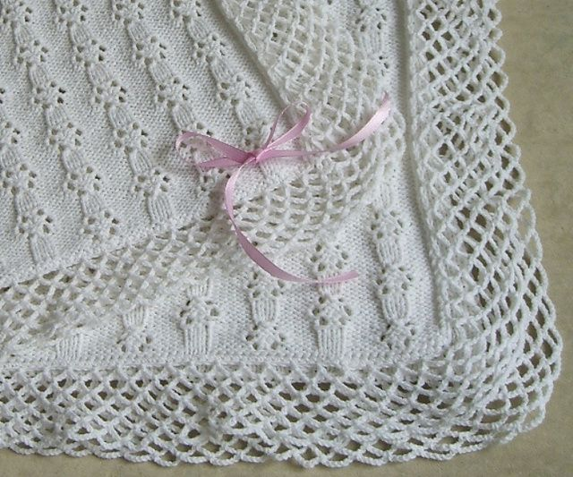 Free Knitting Patterns For Baby Blankets And Shawls : Best images about knitting blankets on pinterest