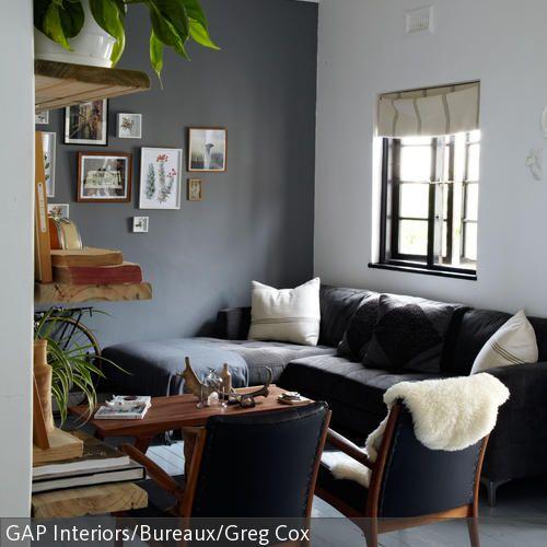 Wohnzimmer Ideen Wohnzimmer Ideen Schwarzes Sofa