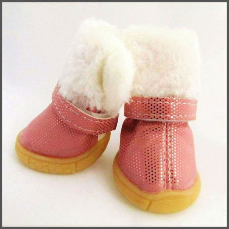 Fur Trimmed Sparkle Boots - My Little Amigo - 2