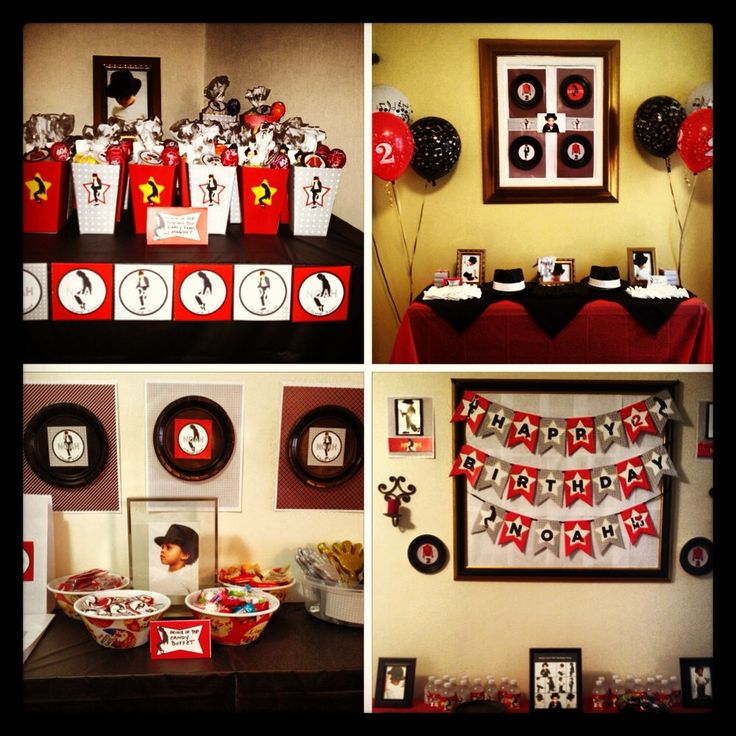 17 Best images about Michael Jackson theme party on Pinterest | To be, Birthday party ...