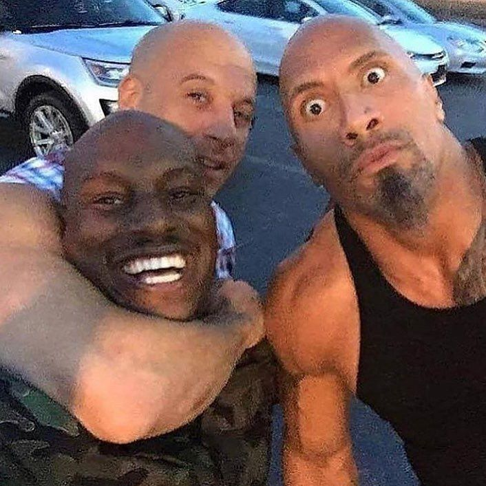 Tyrese Gibson Declares He's Out of the 'Fast & Furious' Franchise If Dwayne Johnson 'Is In'   Entertainment Tonight