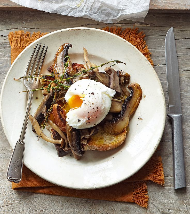 This mushroom recipe is a beautifully simple yet absolutely scrumptious meal idea. Whether it's for breakfast, lunch or supper it's a winner.