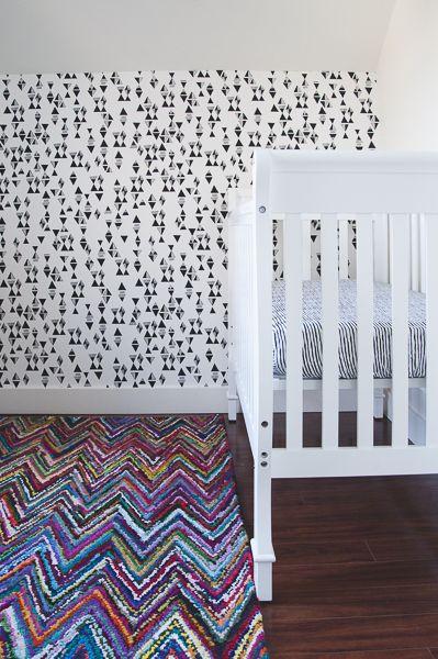Odważne wzory mogą wyglądać świetnie także w pokoju dziecięcym. Zobaczcie sami ;) Zadbajcie o zdrowie i dobre samopoczucie swojego malucha na http://mlekolandia.pl/