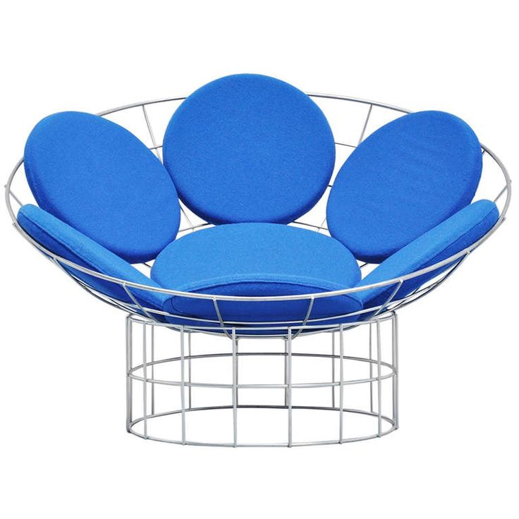 Verner Panton Peacock Chair Plus Linje 1960