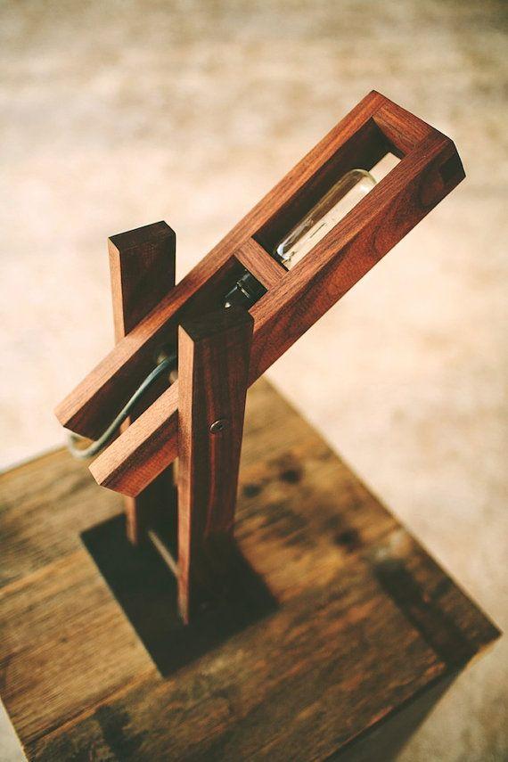 Plover desk lamp table lamp modern by petrifieddesign on Etsy