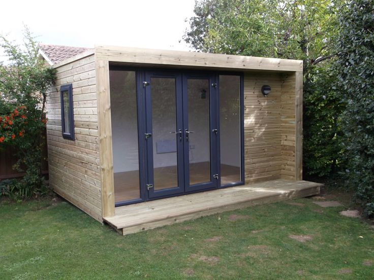 4x3m Inspiration Garden Room With Graphite French Door And Window Combi,  From £11,495 Inc