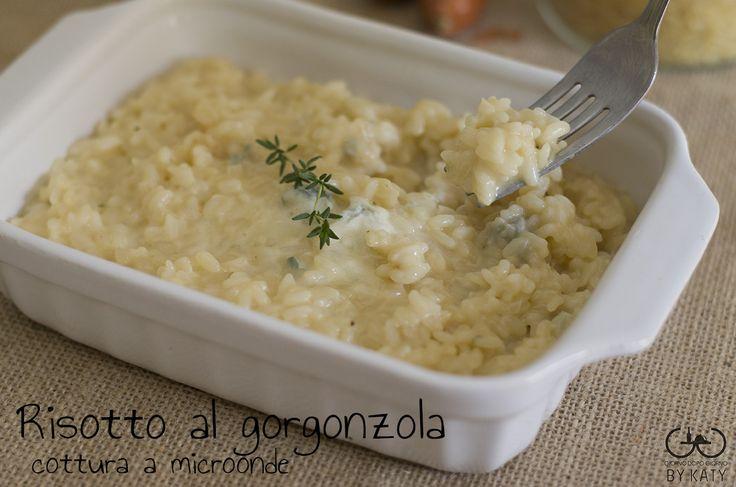 Risotto al gorgonzola, cottura al microonde