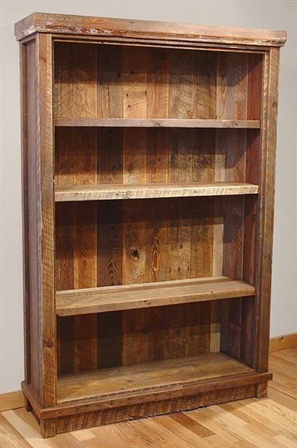 Bradley's Furniture Etc. - Rustic Bookshelves - Ponad 25 Najlepszych Pomysłów Na Temat: Rustic Bookshelf Na