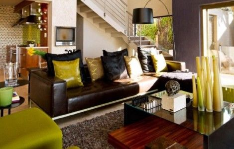 African Inspired Living Room and Bedroom Designs