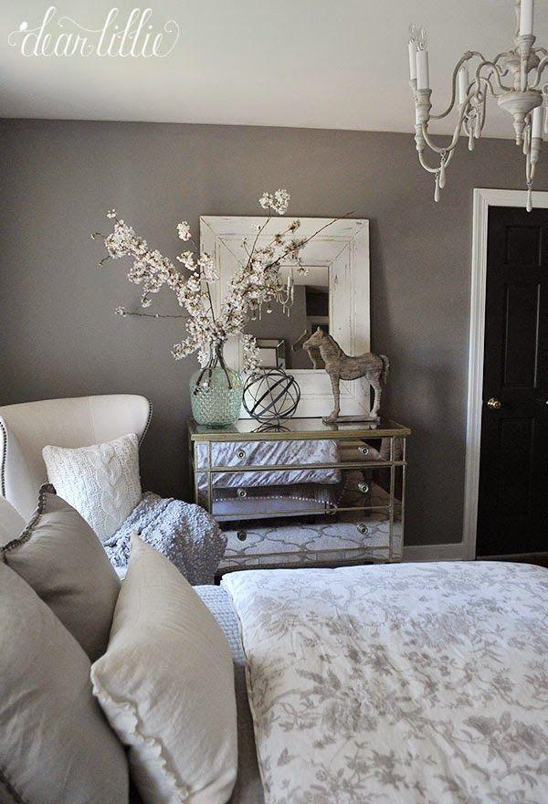 Cozy Gray And White Bedroom Bedroom Decor Cozy Home Decor
